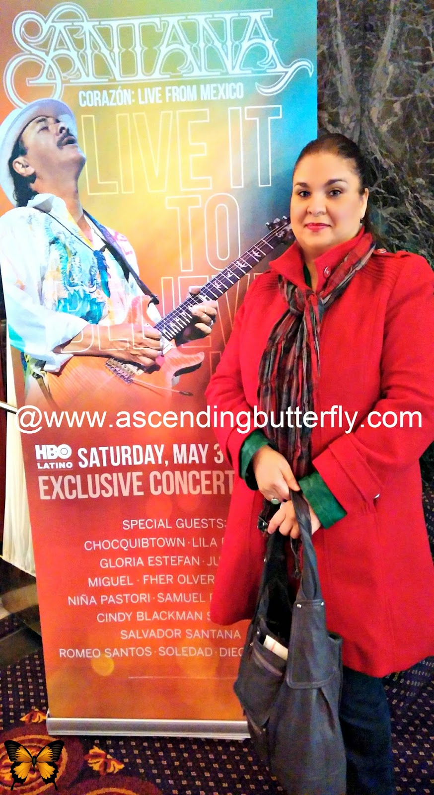 HBO Latino Santana-Corazón: Live from Mexico: Live It to Believe It Premiere Event.
