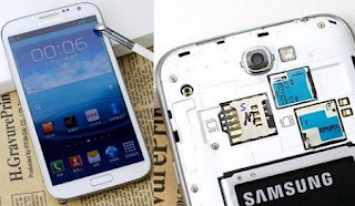 Samsung Galaxy Note II Dual SIM coming in china