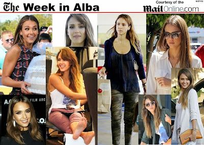 A week's worth of hot Jessica Alba photos