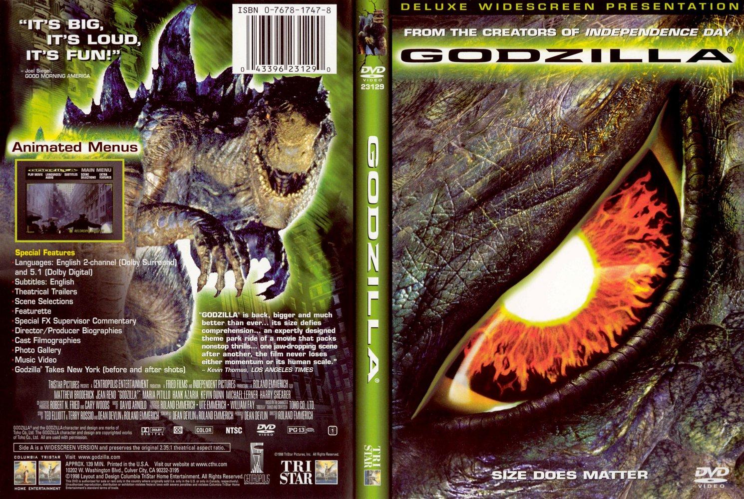 Movies Collection: Godzilla [1998]