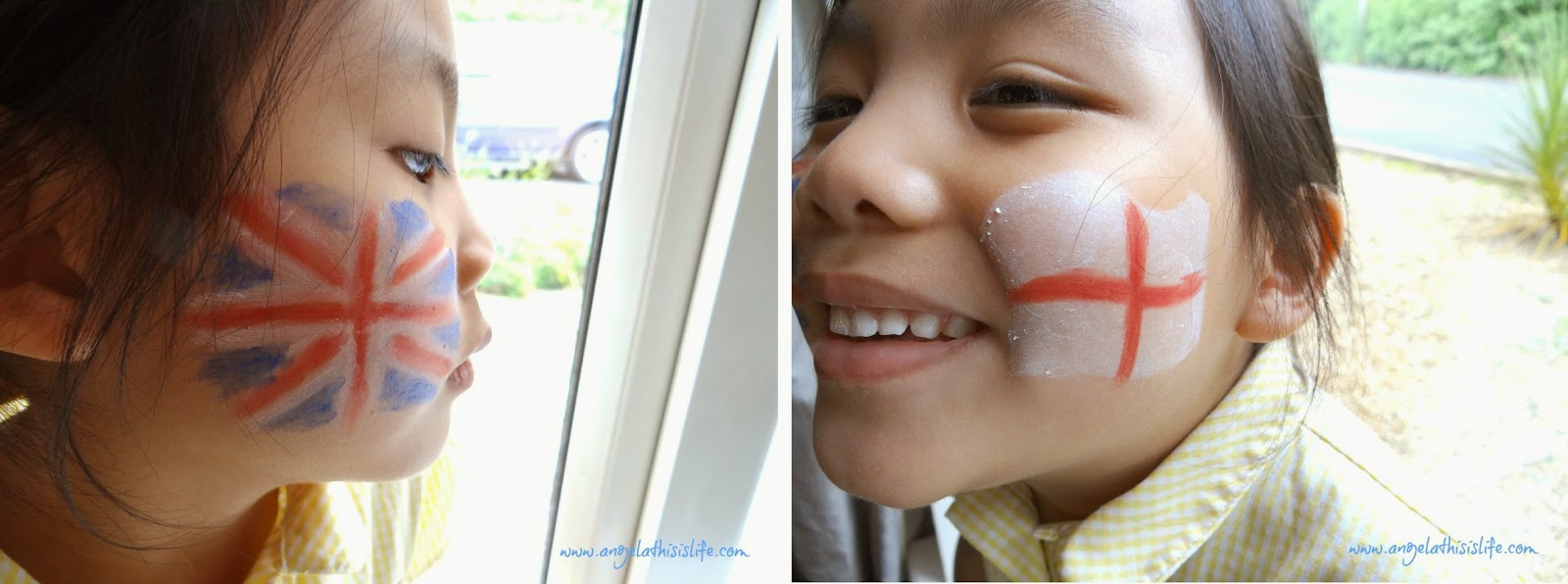 children face paint, Snazaroo face paint, FIFA World Cup 2014