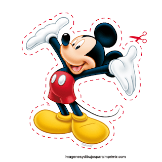 Minnie mouse para recortar