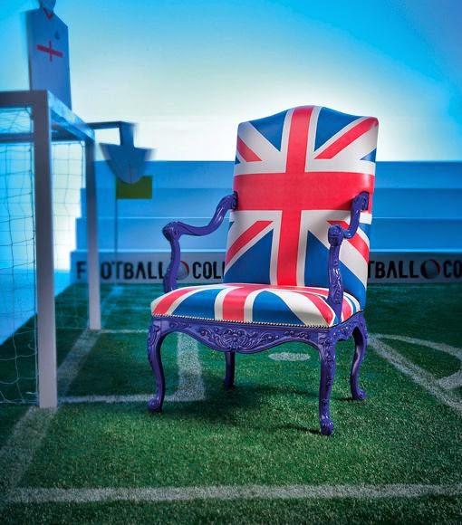 El Mundial de Futbol llega a la decoración Mueble seleccion inglaterra