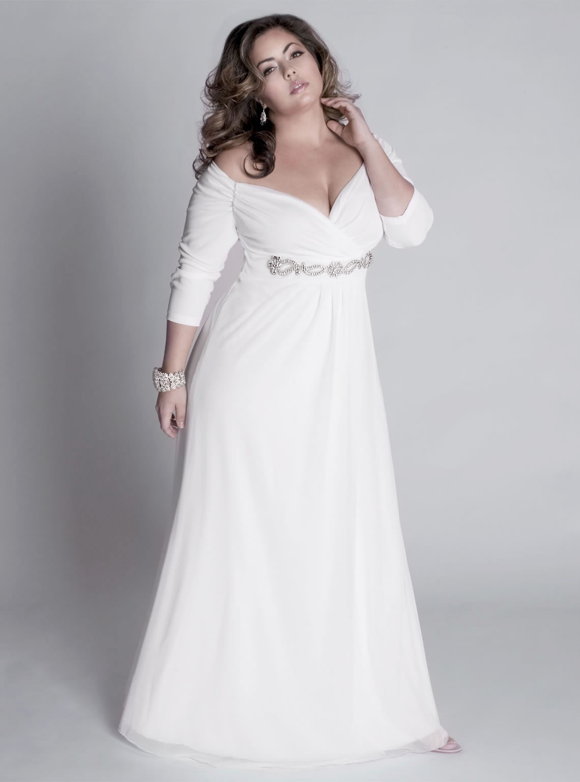 Long Formal Dresses Cheap Plus Size