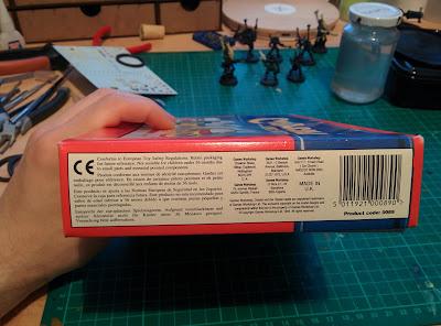 Citadel Colour Paint Set 1994 - Barcode