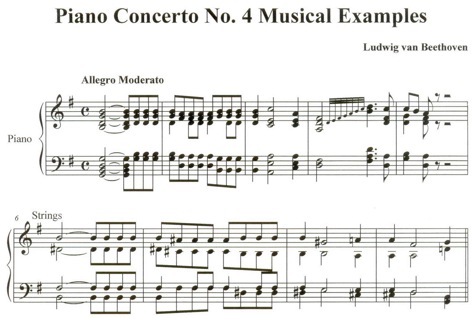 beethoven piano concerto analysis Thesis on a formal analysis on beethoven's piano concerto no3 in c minor , op 37 will help you with ideas for your own coursework download now and improve your grades.