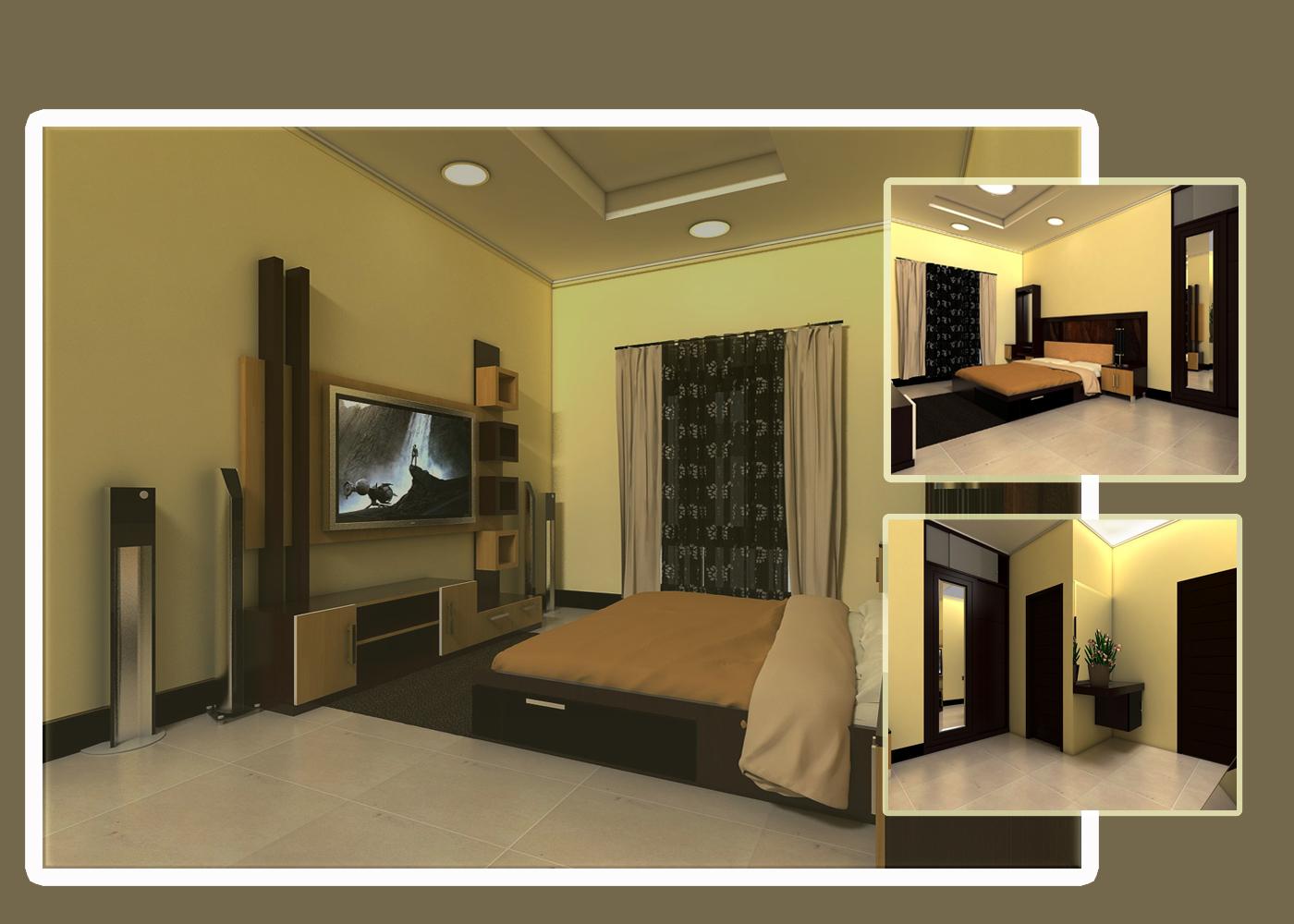 interior design desain kamar tidur utama