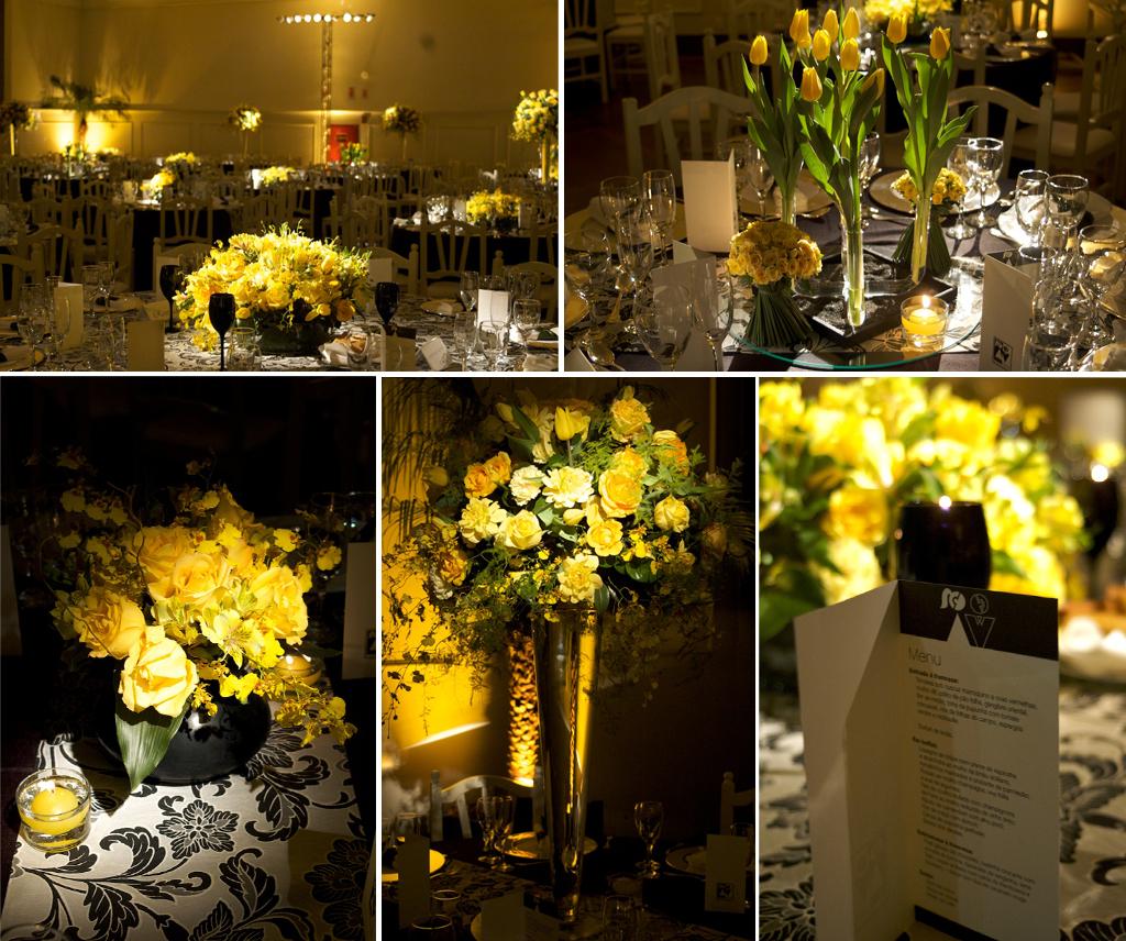 decoracao branco amarelo : decoracao branco amarelo:Decoracao De Casamento Preto Branco E Amarelo