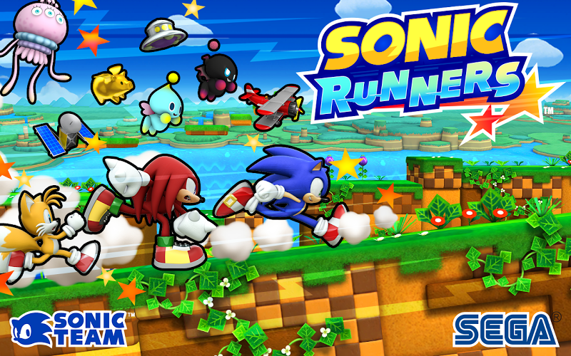 SONIC RUNNERS Gameplay IOS / Android