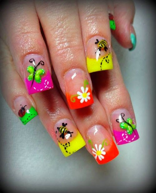 Nail Art Summer Designshttp://nails-side.blogspot.com/