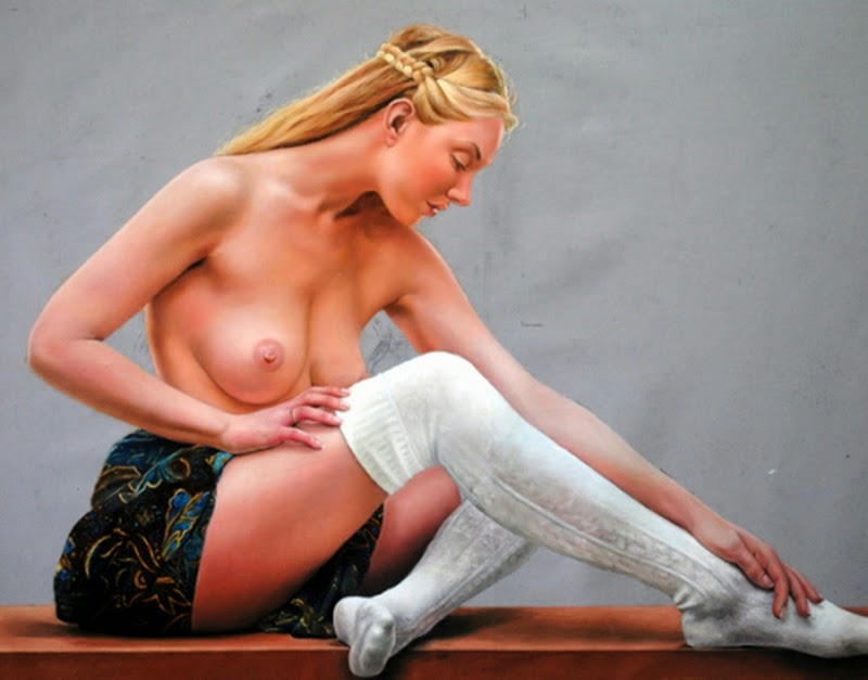 D.W.C. Rose Queen - Painter Paulo Cabral