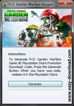 Plants vs. Zombies: Garden Warfare PS3 Code