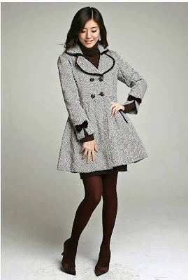 Asian Girl Winter Fashion Top Collections 5