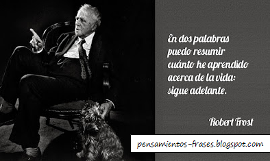 frases de Robert Frost