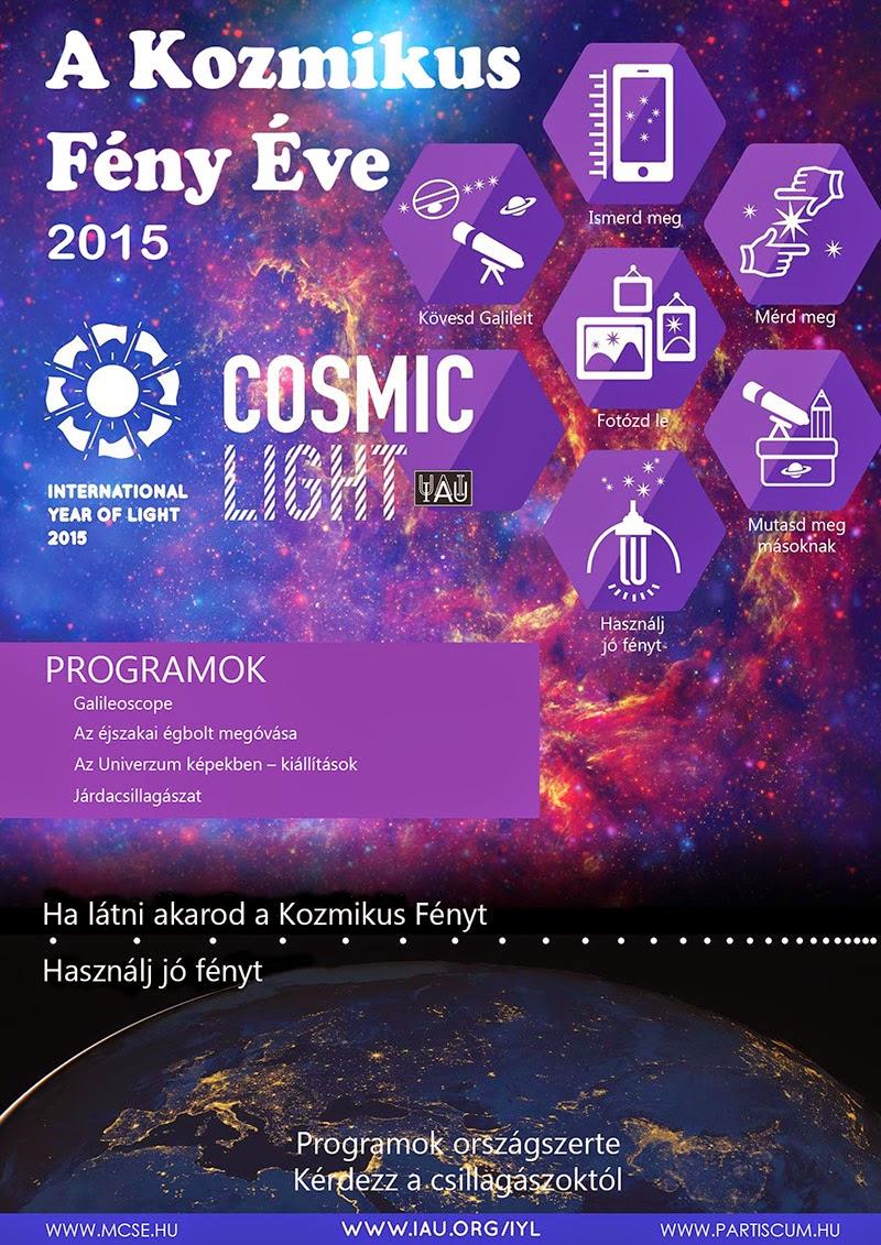 2015 – A Kozmikus Fény Éve