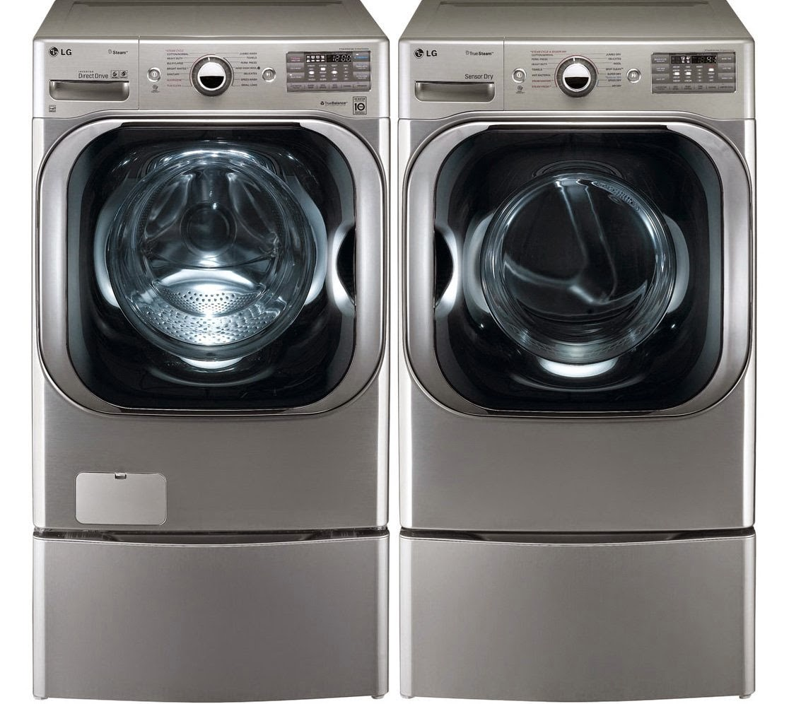 Lg front load washer and dryer sets