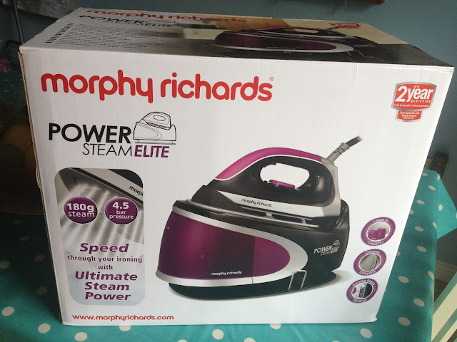 Morphy Richards Power Steam Elite Steam Generator Review