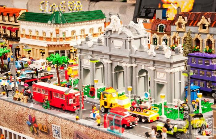 museo del ferrocarril exposicion de Lego
