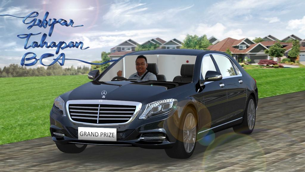 Mercedes-Benz S-Class Gratis dari Gebyar Tahapan BCA