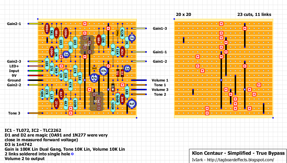 Guitar FX Layouts: Klon Centaur - Bare Bones - True Byp on divided by 13 amp schematic, lovepedal eternity burst schematic, tube distortion pedal schematic, fuzz face schematic, proco rat schematic, hermida zendrive schematic, mxr phase 100 schematic, winchester super x 1 schematic, overdrive schematic, marshall bluesbreaker schematic, simple distortion pedal schematic, wah pedal schematic, box mod schematic, orange squeezer schematic, cry baby wah schematic, rangemaster schematic, lovepedal amp schematic, ocd schematic, boost pedal schematic, ibanez ts9 schematic,