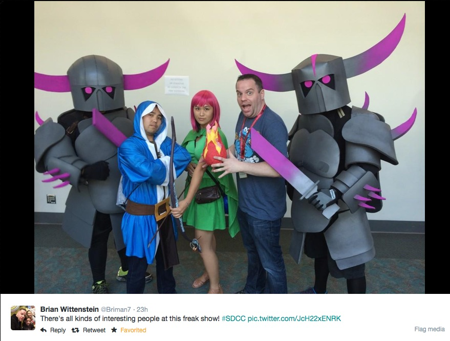 EPBOT: The Best Tweets & Pics Of SDCC!