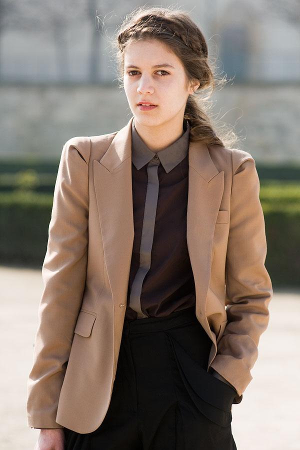 Vanessa Jackman: Paris Fashion Week AW 2011.Tine and