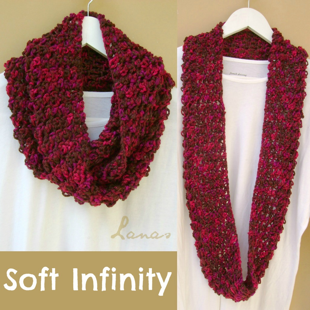 Crochet Tutorial Infinity Scarf : Recientementedescubr? en YouTube un video que explica como hacer una ...