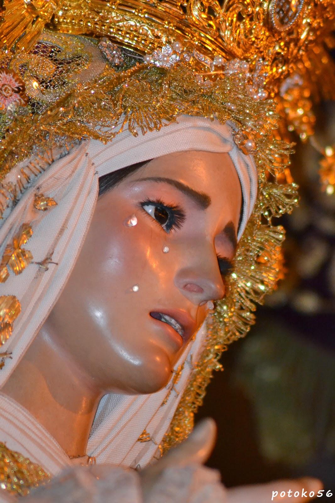 Semana Santa en Rota María Santísima de la Amargura