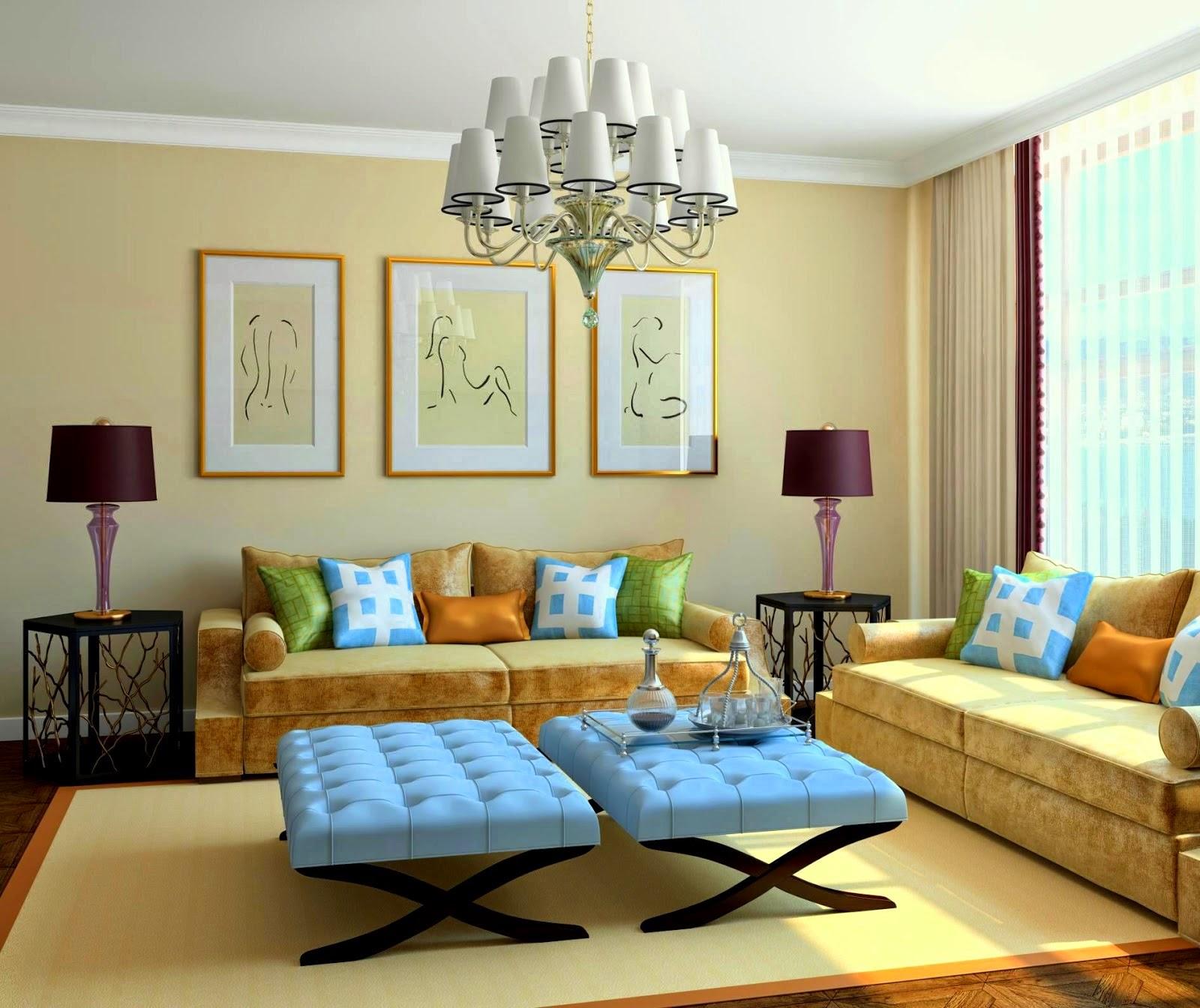 Kumpulan Desain Ruang Tamu orange Terbaik