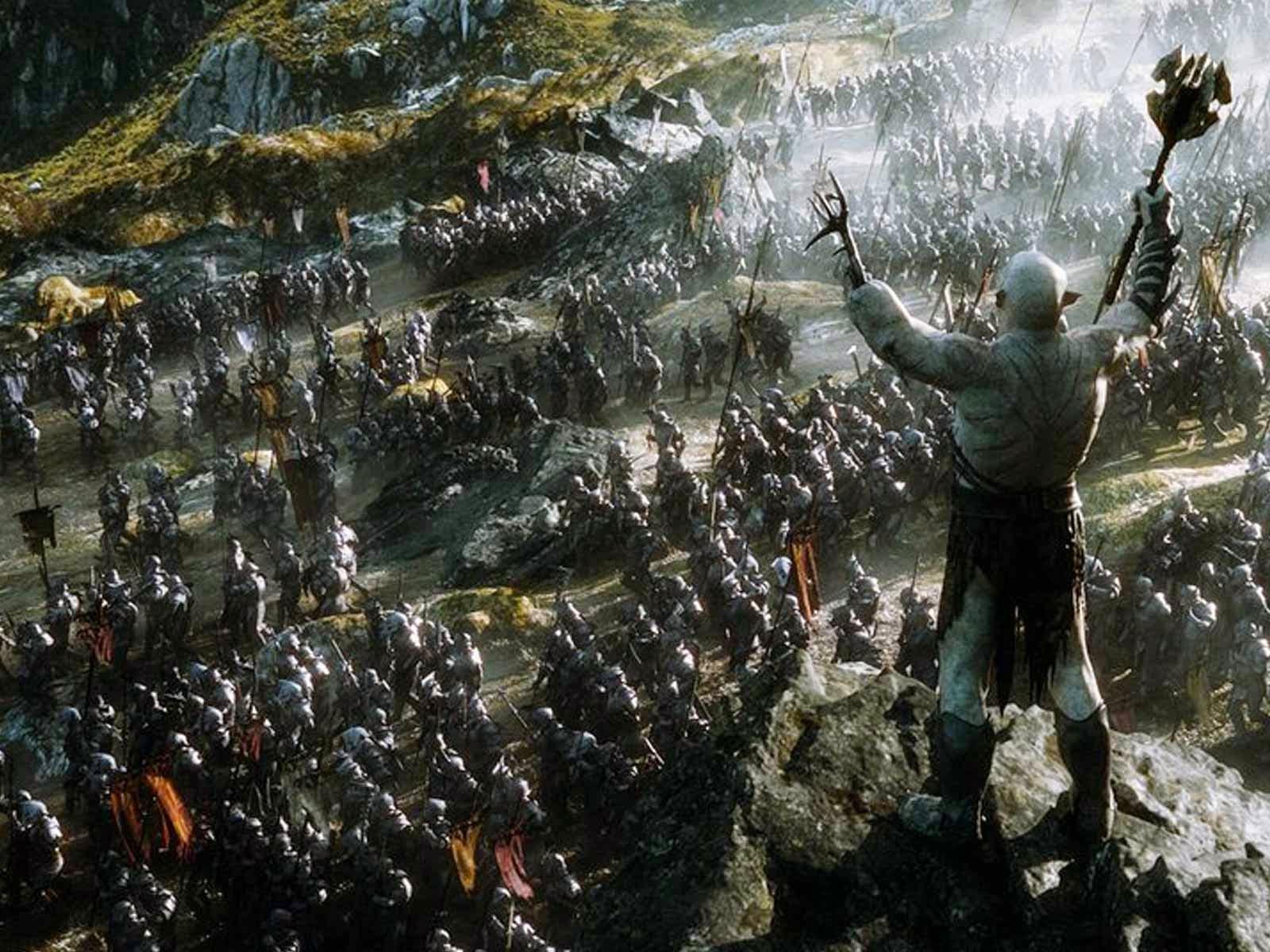 Hobbit 3 combat des cinq armées