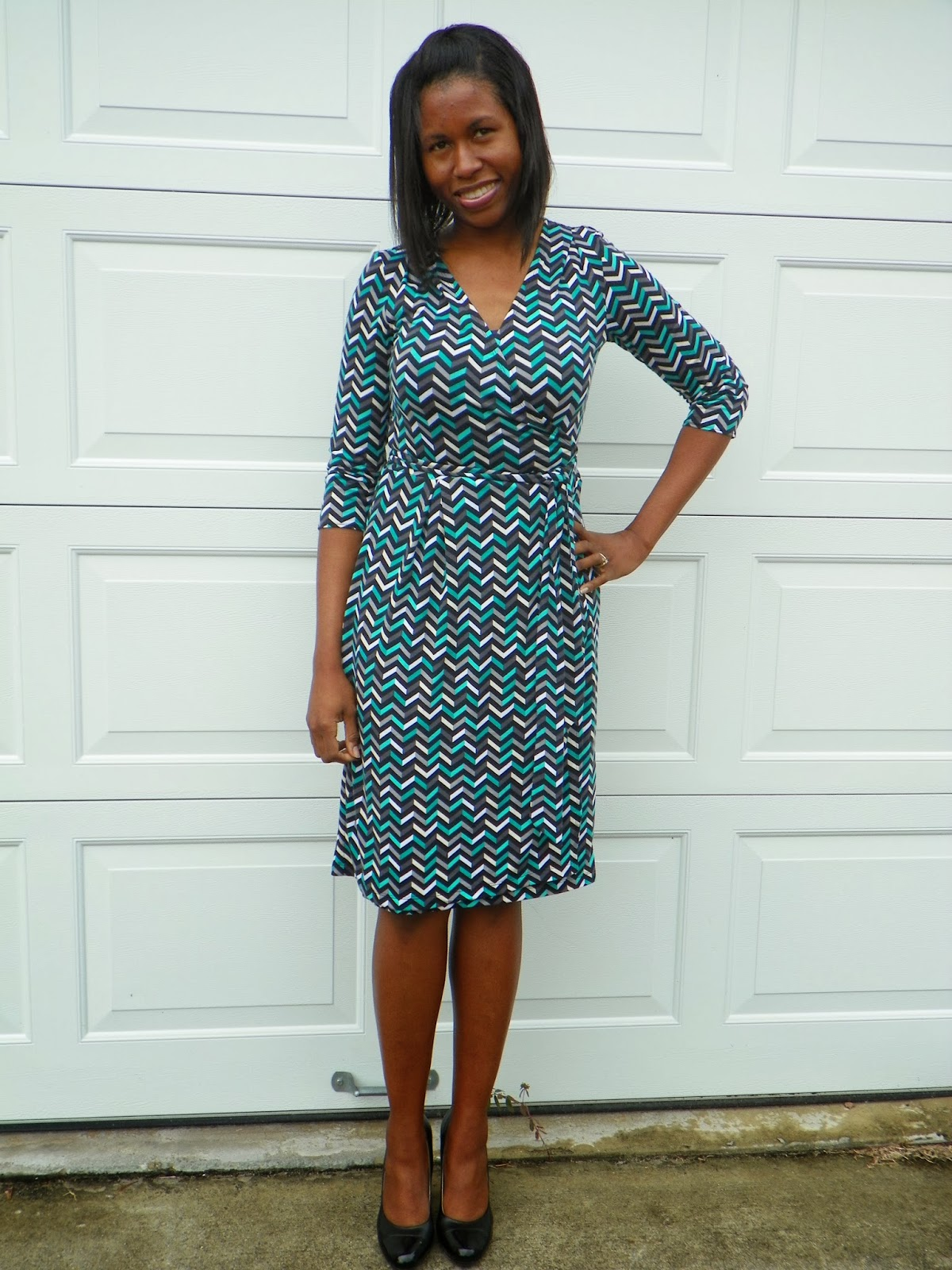 Ten Thousand Hours of Sewing ...: Butterick 5454- The ZigZag Wrap Dress