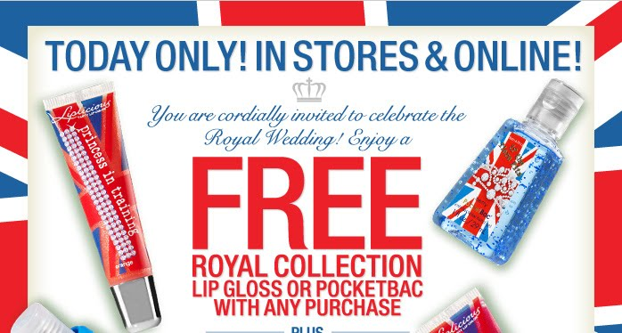 Take this coupon to your nearest Bath & Body Works for a free Royal ...