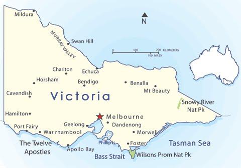 Shortwave Central Australian States on Shortwave Victoria