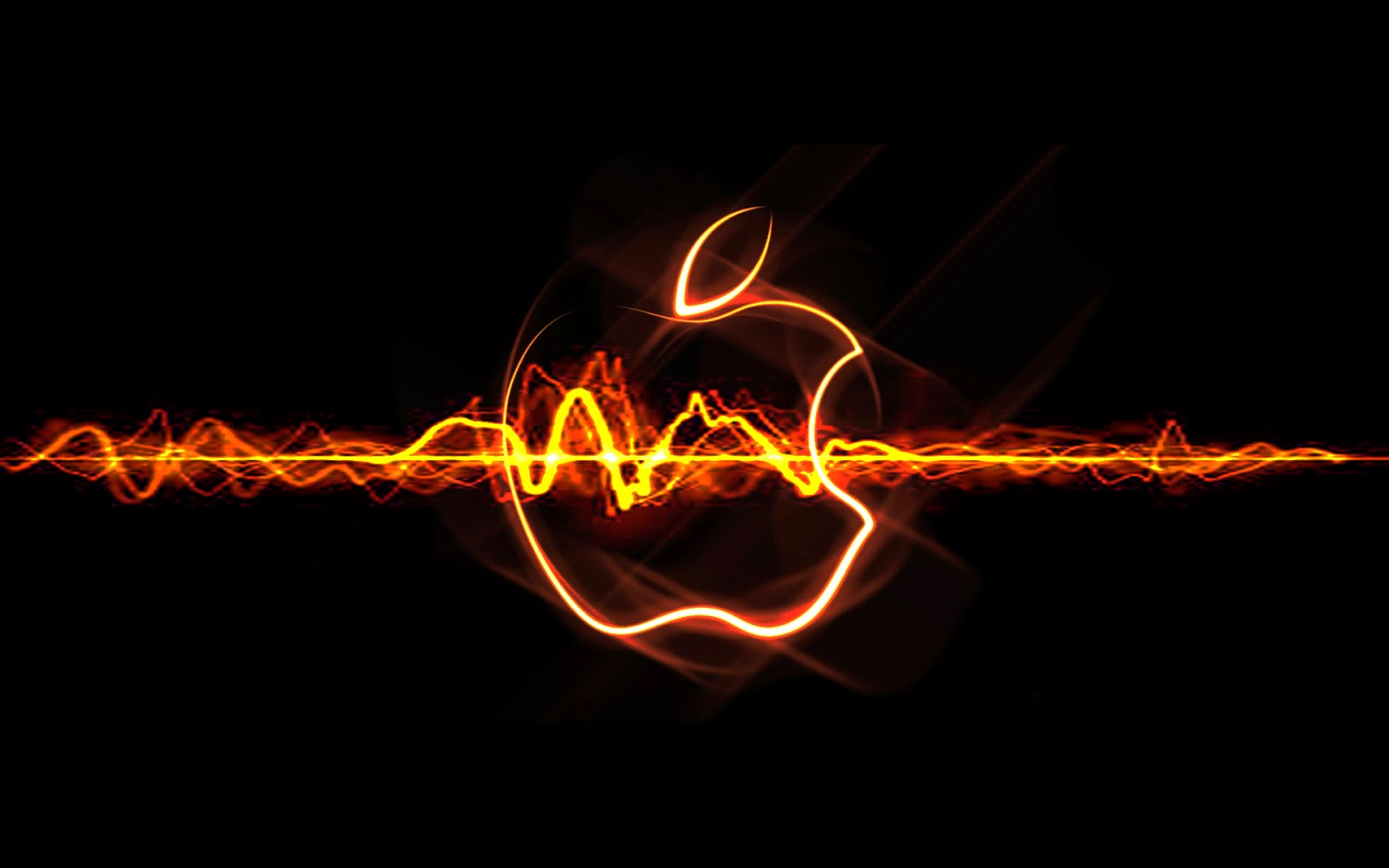 Black Apple Wallpaper Hd