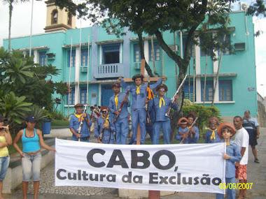 Crucificação dos bacamarteiros pelo prefeito Lula Cabral