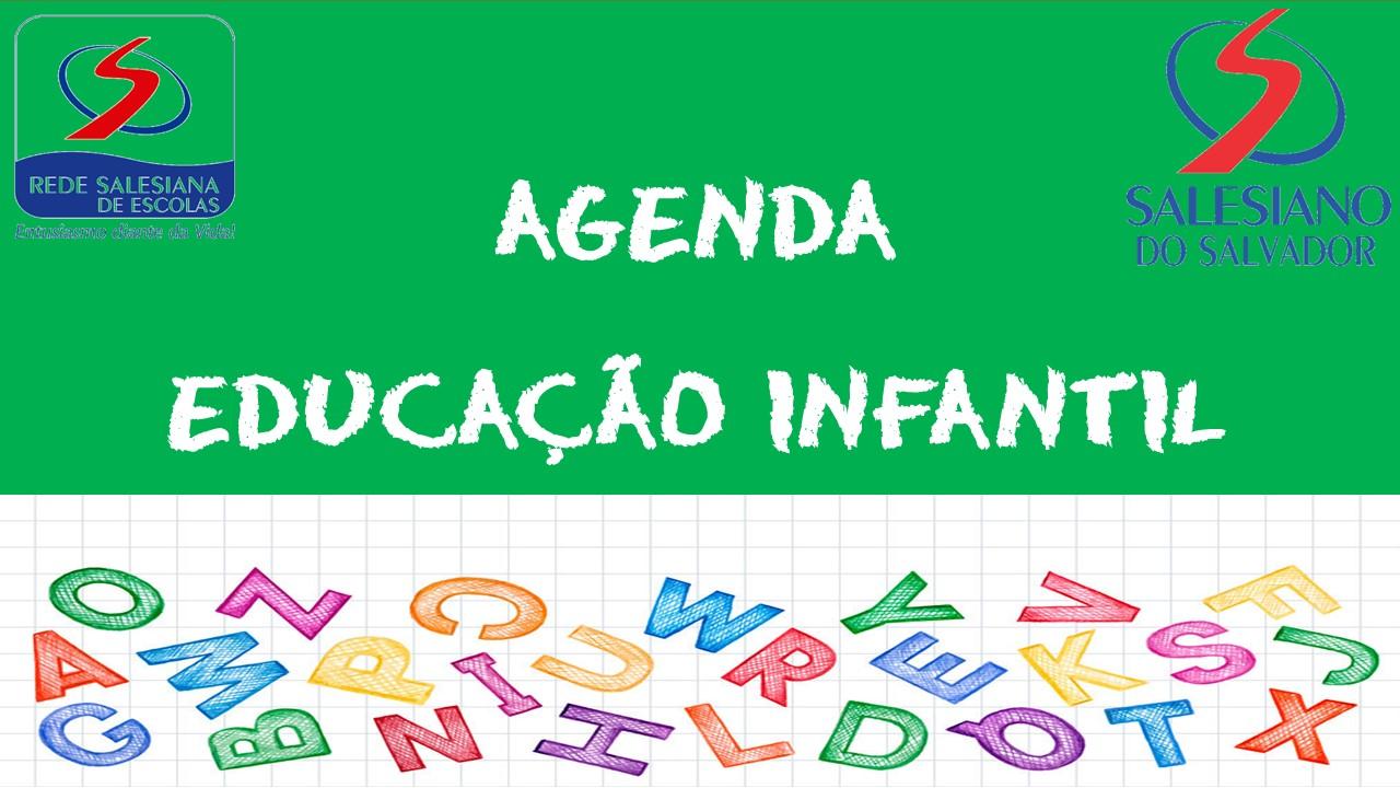 AGENDA EDUCAÇÃO INFANTIL