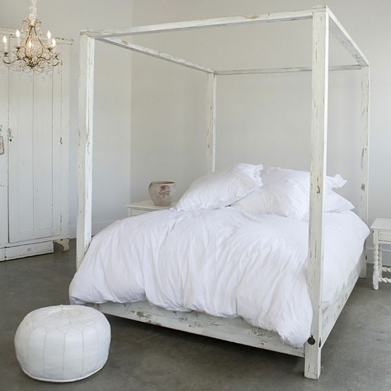 All White Bedrooms: Decor Inspiration