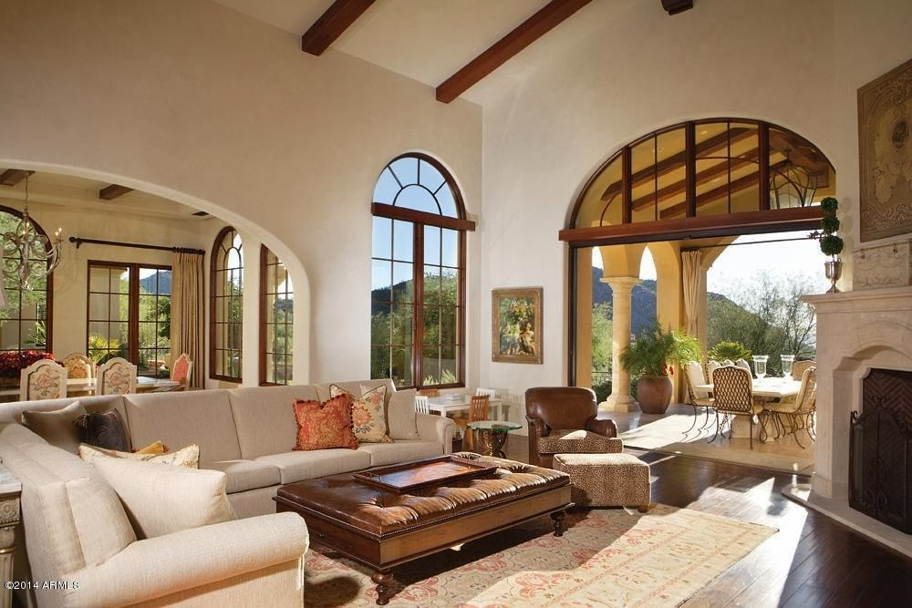 A Magnificent Mediterranean Design That Brings The Vibrant Landscape And Sunlight Into The