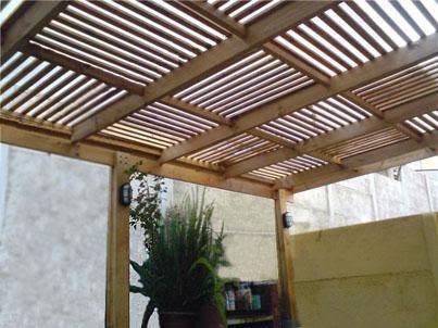Allmamobel terrazas for Cobertizos para terrazas