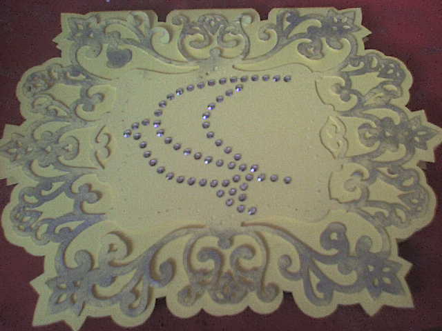 filigree card