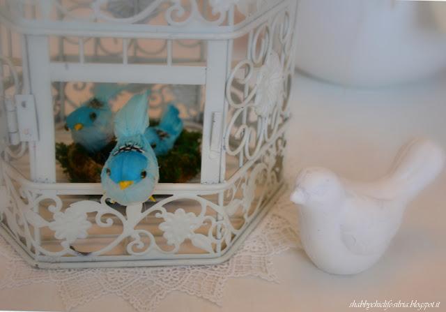 uccellini, primavera http://shabbychiclife-silvia.blogspot.it