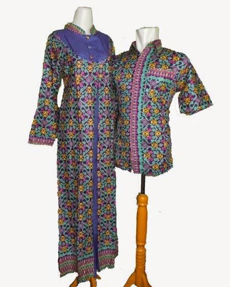 100 Gambar Gamis Batik Songket Couple Dengan Jual Baju