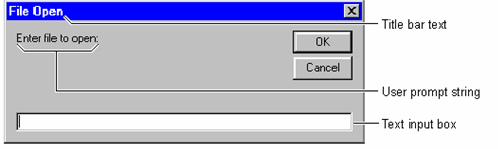 how to make a dialog box in visual basic
