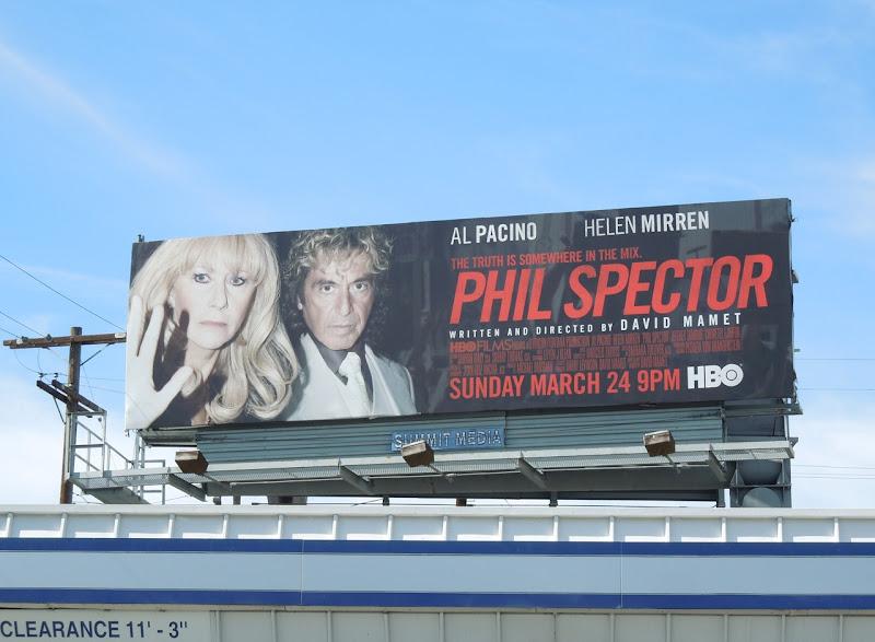 Phil Spector HBO billboard