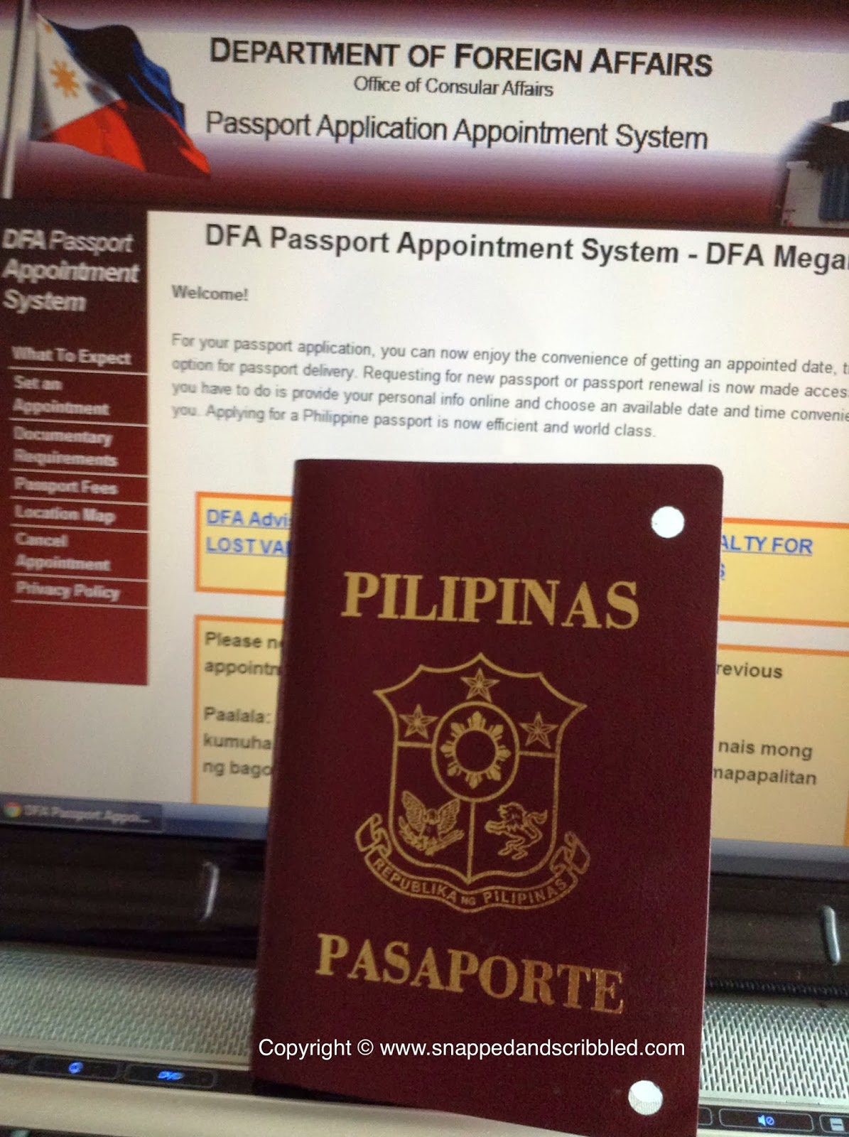 DFA Passport Appointment System
