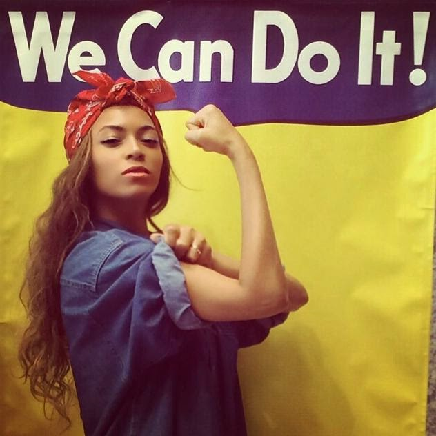 Beyonce the Riveter
