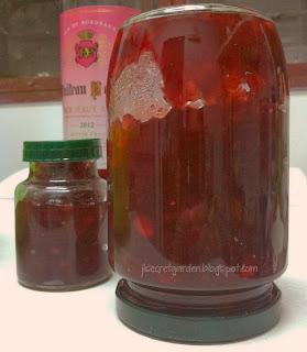 自家製小紅莓果醬 Homemade Cranberry Jam