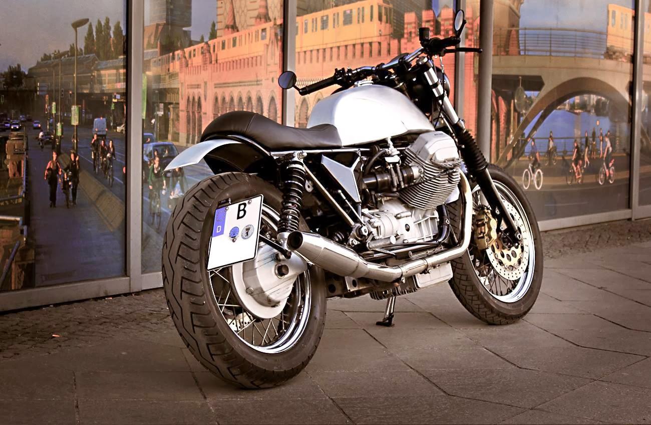 Racing Caf    Moto Guzzi  Slim Alloy  by Urban    Motor