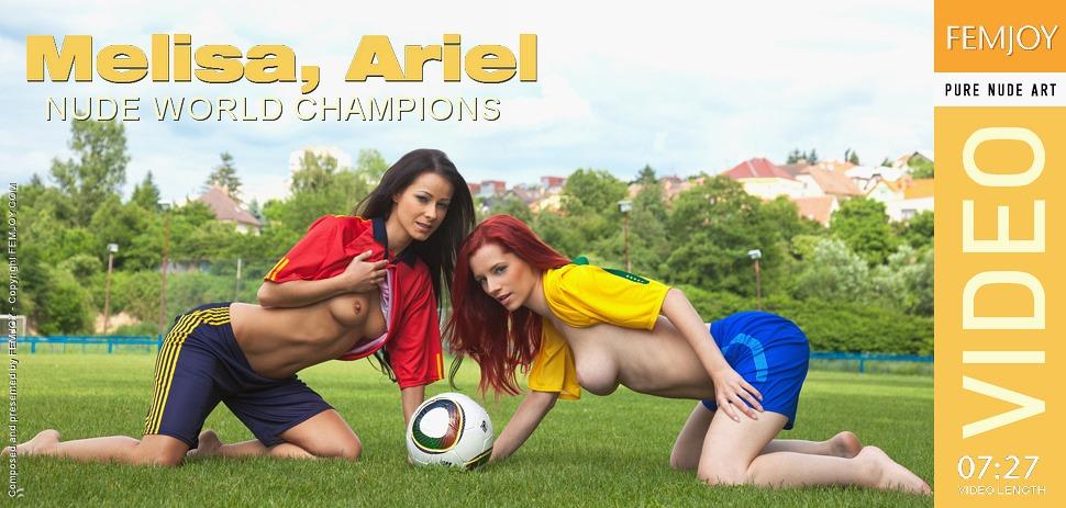 Ariel Nude World Champions