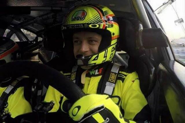 Gagal Menang di MotoGP, Valentino Rossi Juara di Ajang Monza Rally